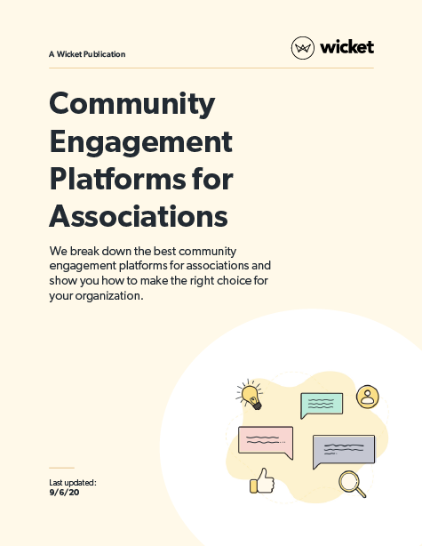 community engagement platforms for associations