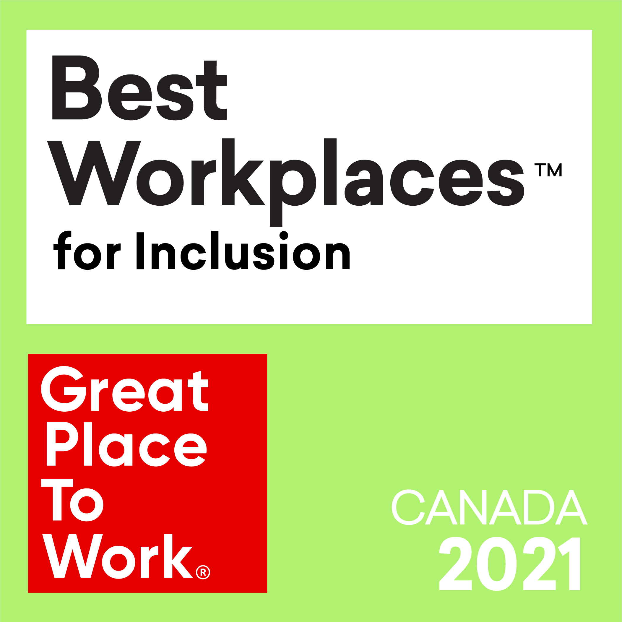 Best Workplaces for Inclusion 2021