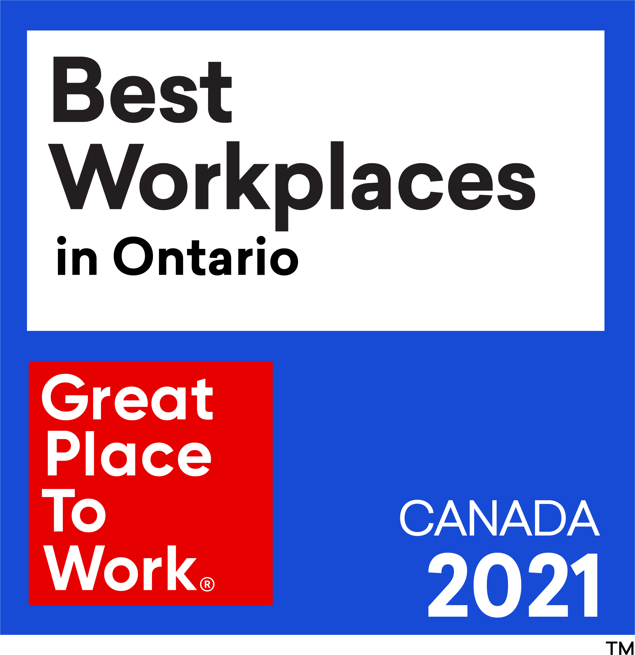 Best_Workplaces in Ontario 2021